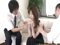 Kanon Hanai Asian babe gets a give the impression